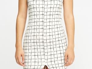 Black White Printed Dress 6 dress