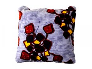 Ingo Shanyenge African Print Cushion Cover Blue Bells Ingo Shanyenge
