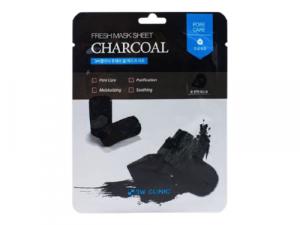 3W CLINIC Fresh Sheet Mask Charcoal