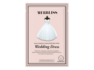 Merbliss Wedding Dress Intense Hydration Coating Nude Seal Mask merbliss
