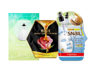 Zimolange Face Mask Bundle - 3 Mixed Sheet Masks 3 mixed sheet masks