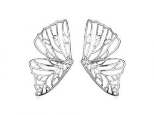 Oversized Butterfly Earrings 2 butterfly earrings