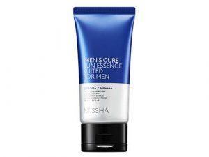 MISSHA Men's Cure Sun Essence Suited For Men SPF50+ PA++++ missha