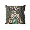 Ingo Shanyenge African Print Cushion Cover Green Oriental Ingo Shanyenge
