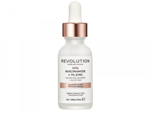 Revolution Skincare 10% Niacinamide and 1% Zinc Blemish & Pore Serum 30ml