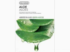 aloe vera real nature face mask