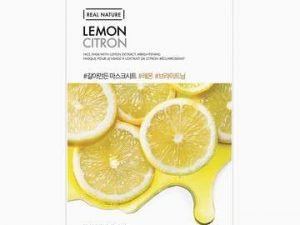 The Face Shop Real Nature Lemon 6 the face shop real nature lemon