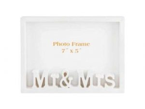 Mr & Mrs Photo Frame photo frame