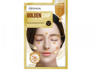 Circle Point Golden Chip Mask