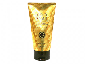 Gold Snail Nutrition Cleansing Foam  gold snail