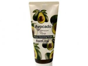 FARM STAY Avocado Premium Pore Deep Cleansing Foam FARM STAY
