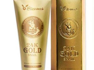 ELIZAVECCA Milky Piggy 24K Gold Snail Foam Cleansing