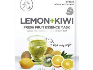 Eticuti Lemon+Kiwi Fresh Fruit Essence Mask Pack [5 PCS] eticuti lemon+kiwi fresh fruit essence mask pack