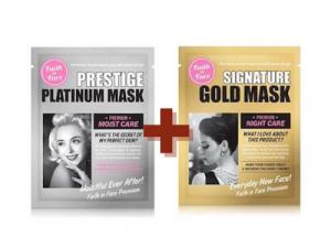 Faith In Face Signature Gold + Platinum Mask