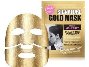 Faith In Face Signature Gold Mask 4 faith in face signature gold mask