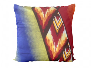 Ingo Shanyenge African Print Cushion Cover Orange Fire 4 Ingo Shanyenge