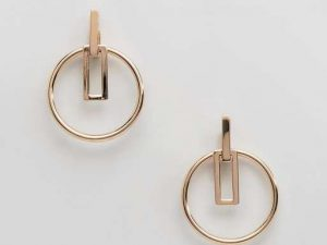 Geo Shaped Post Earrings earrings
