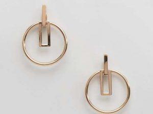Geo Shaped Post Earrings 8 earrings