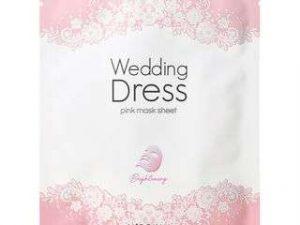 It's Skin Wedding Dress Pink Mask Sheet it's skin wedding dress