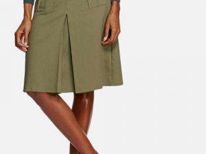Khaki Utility Skirt skirt