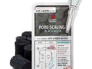 LEADERS Step Solution Pore-Scaling Black Aqua Mask 24 leaders