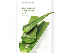 Nature Republic Real Nature Aloe Vera Mask Sheet