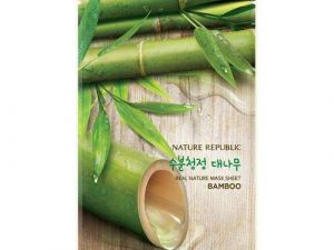 Nature Republic Real Nature Mask Sheet Bamboo 8 nature republic