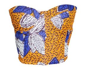 Naturelle Blue Orange Bustier naturelle
