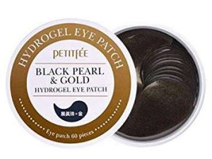 Petitfee Black Pearl & Gold Hydrogel Eye Patches 6 petitfee black pearl & gold hydrogel eye