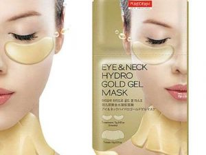 PUREDERM Eye & Neck Hydro Gold Gel Mask purederm