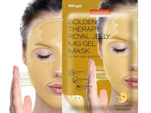 PUREDERM Golden Therapy Royal Jelly MG:Gel Mask purederm golden therapy royal jelly mg:gel mask