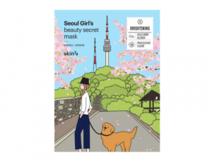 Skin79 Seoul Girl's Beauty Secret Mask - Brightening 4 skin79 seoul girl's beauty secret mask