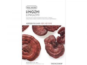 The Face Shop Real Nature Lingzhi Face Mask 8 the face shop