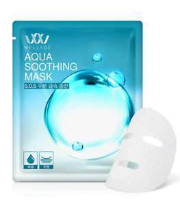 Wellage Aqua Soothing Mask 10 wellage aqua soothing mask